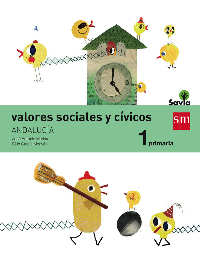 Valores sociales civicos 1ºep andalucia 15 savia