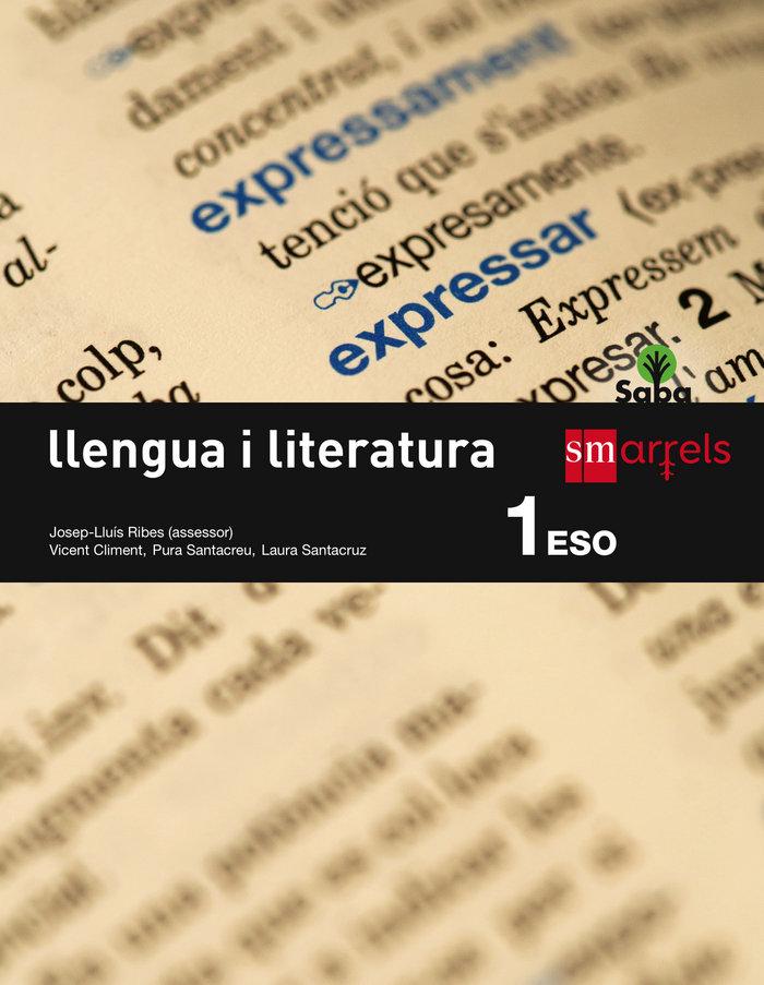 Llengua i literatura. 1 eso. saba