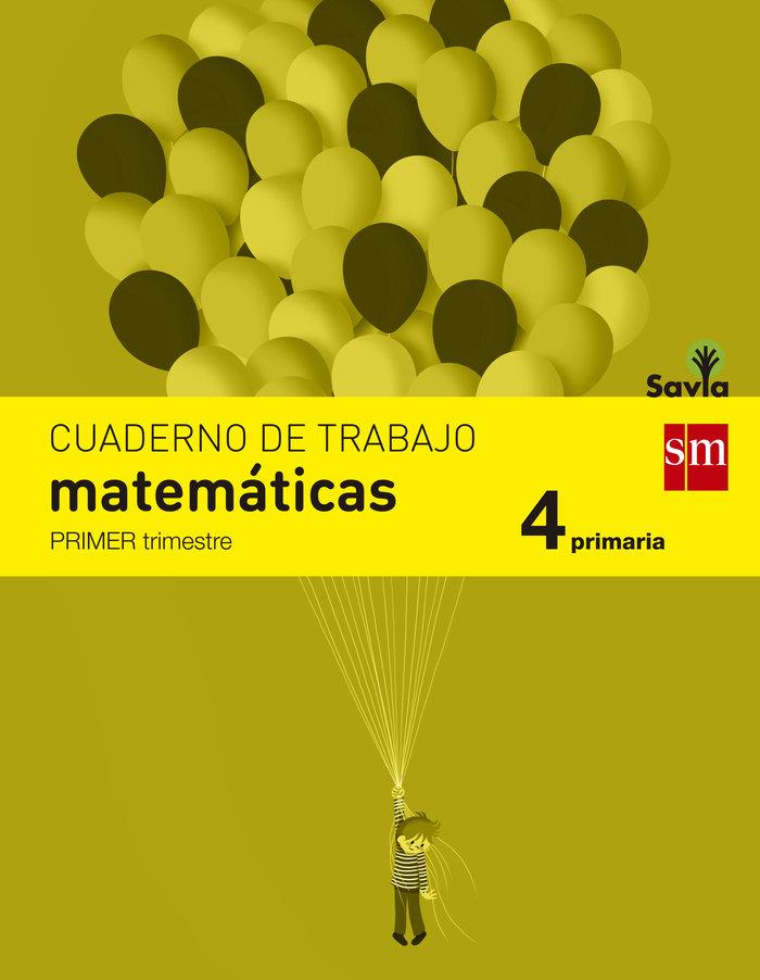 Cuaderno matematicas 1 4ºep savia 15