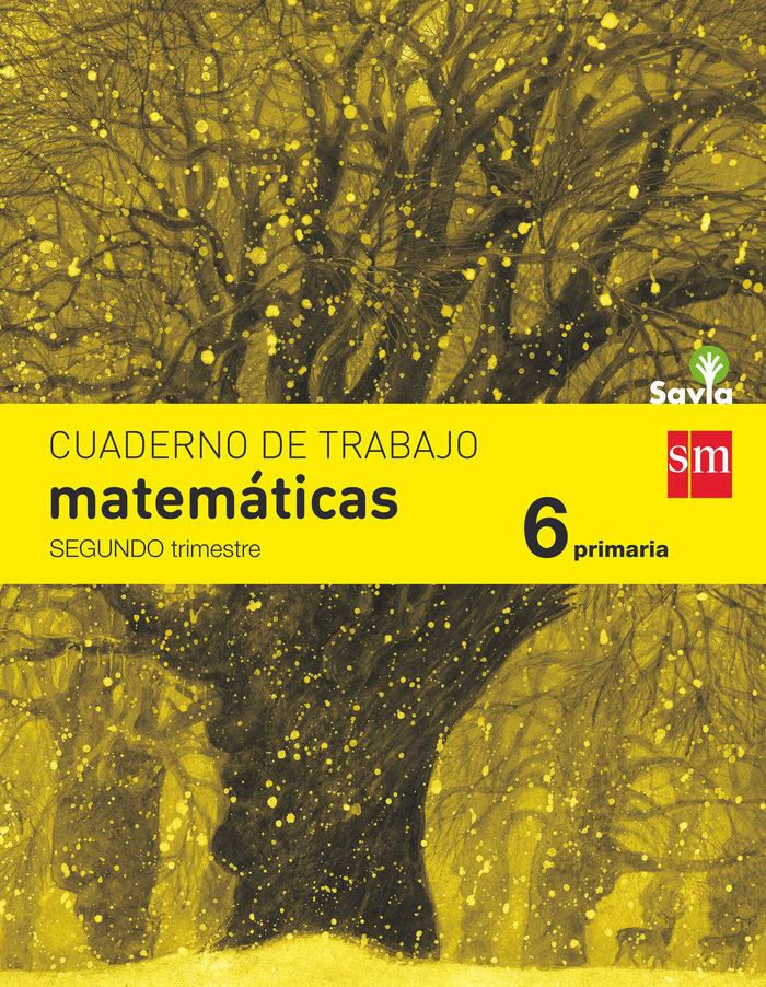 Cuaderno matematicas 2 6ºep savia 15