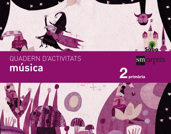 Quadern musica. 2 primaria. saba