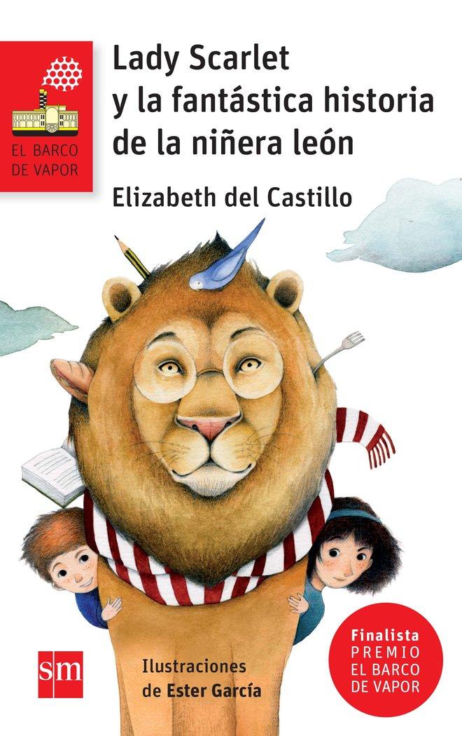 Lady scarlet y fantastica historia de niñera leon bvrn