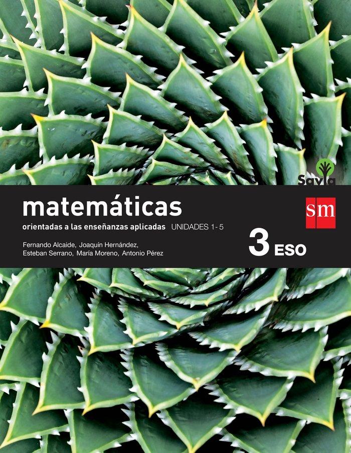 Matematicas 3ºeso a trimest.aplicadas 15 savia