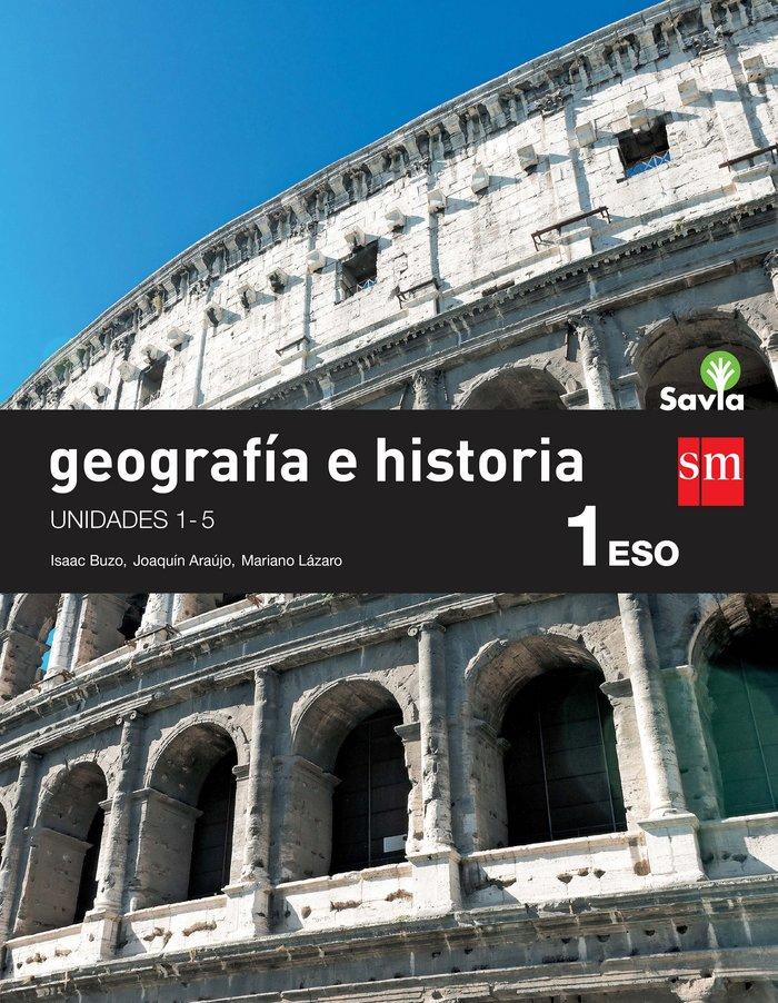 Geografia historia 1ºeso trimest.mec savia 15