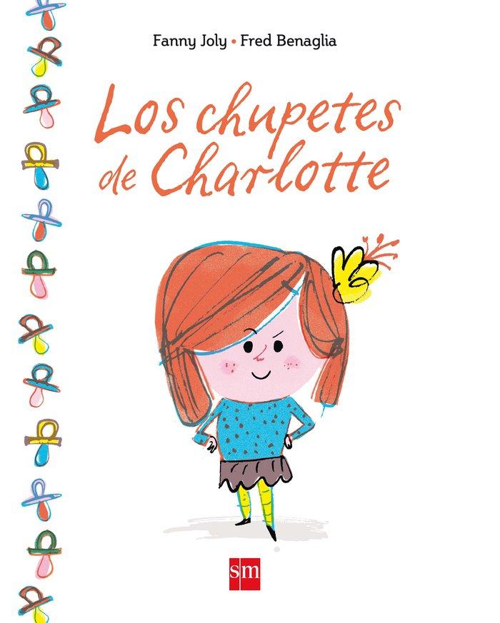 Chupetes de charlotte,los