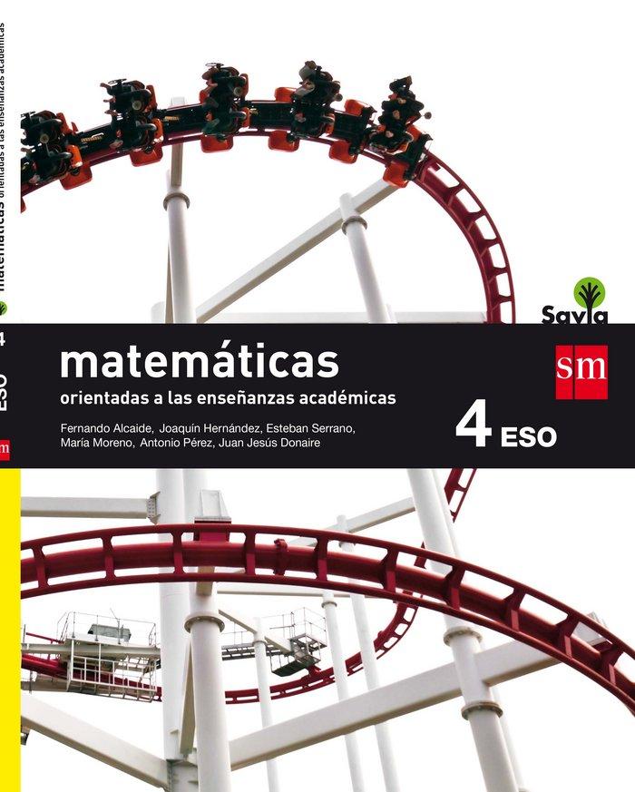 Matematicas academicas 4ºeso b savia 16