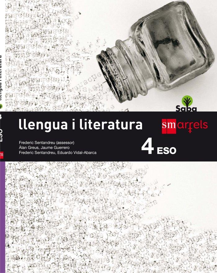 Llengua i literatura. 4 eso. saba