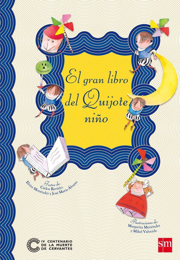 Gran libro del quijote niño,el