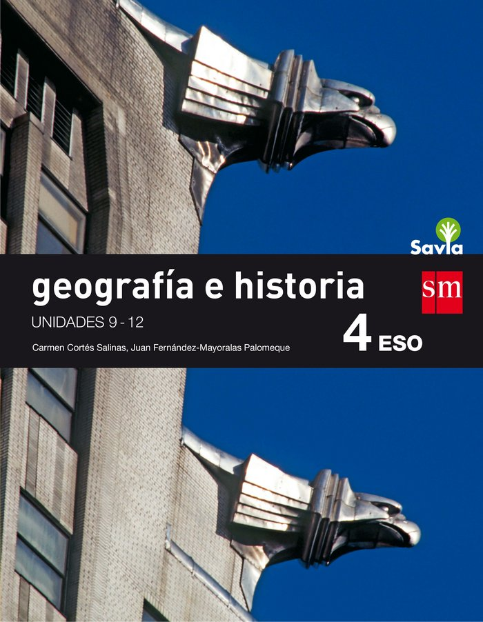 Geografia historia 4ºeso trimestres savia 16