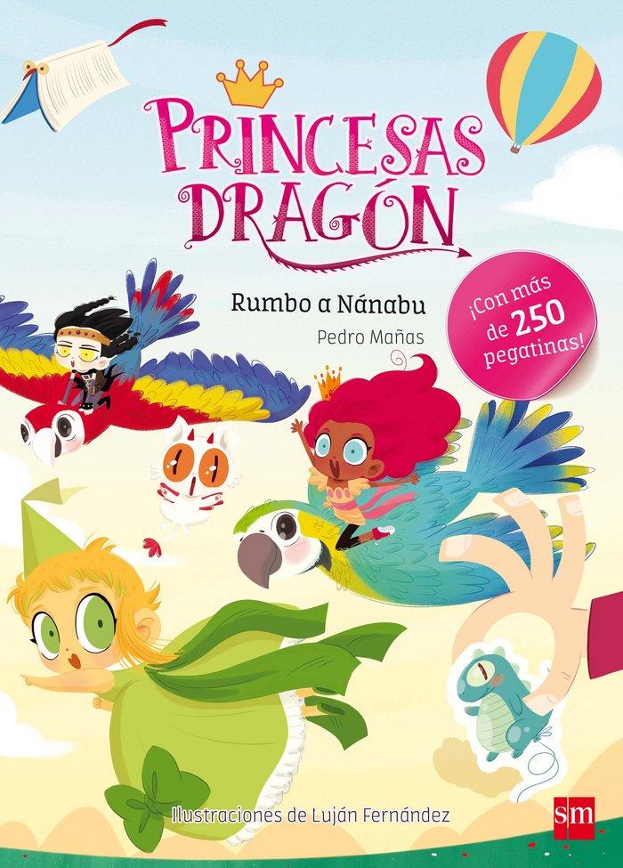 Rumbo a nanabu princesas dragon