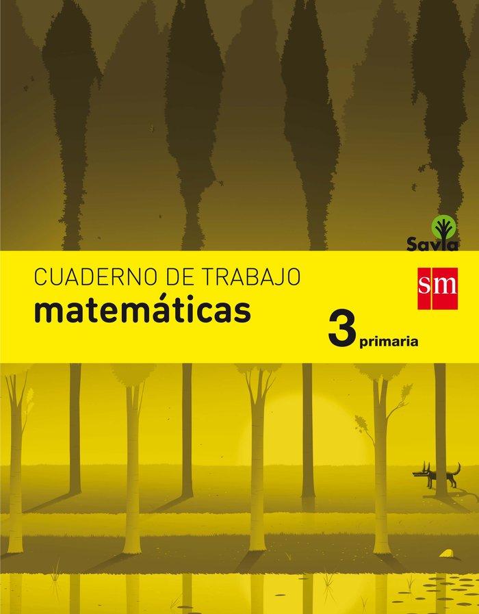 Cuaderno matematicas 3ºep savia 17