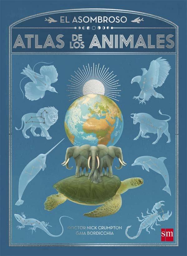 Asombroso atlas de los animales,el