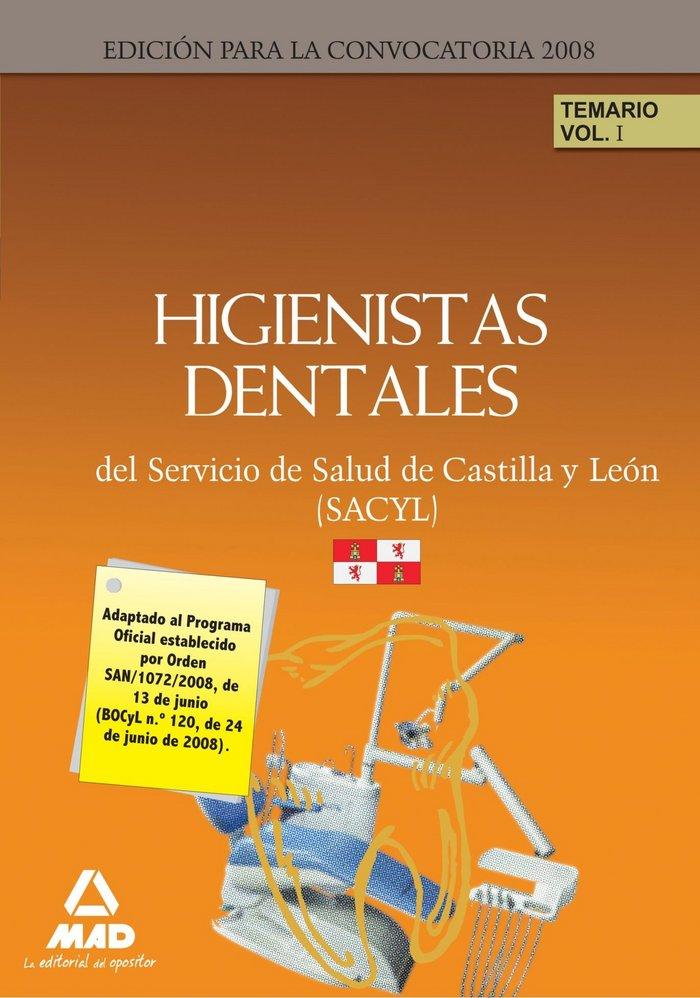 Higienistas dentales del servicio de salud de castilla y leo