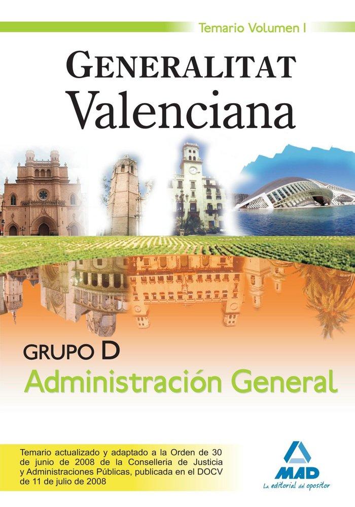 Grupo d administracion general generalitat