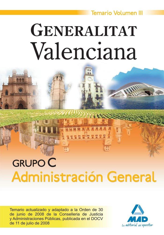 Grupo c administracion general generalitat