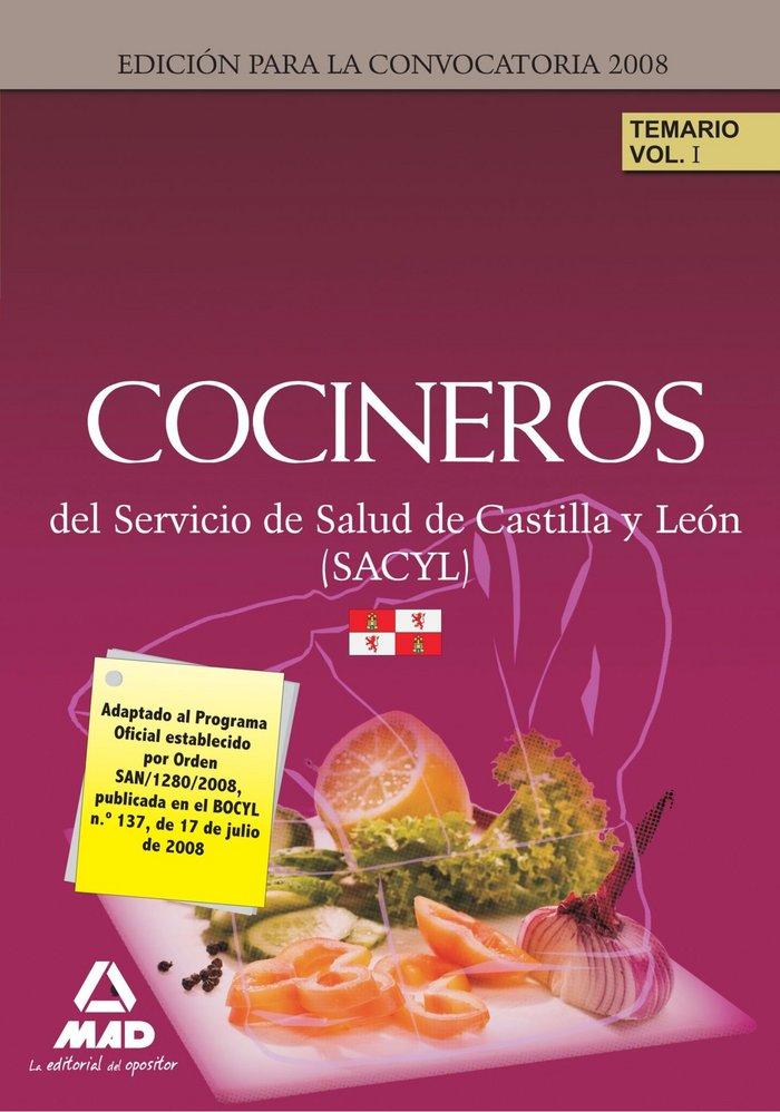 Cocineros del servicio de salud de castilla y leon (sacyl).