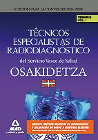 Tecnicos especialistas de radiodiagnostico del servicio vasc