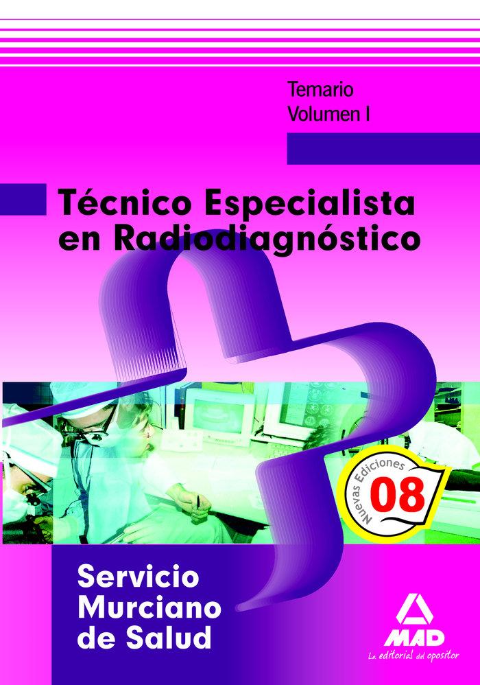 Tecnico especialista en radiodiagnostico del servicio murcia