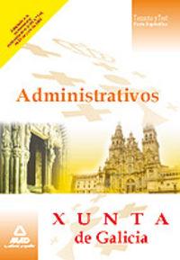 Administrativos, xunta de galicia. manual de estudio, parte