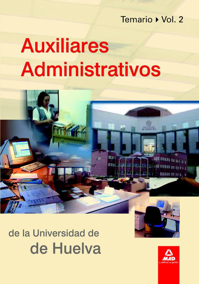Auxiliares administrativos de la universidad de huelva ii