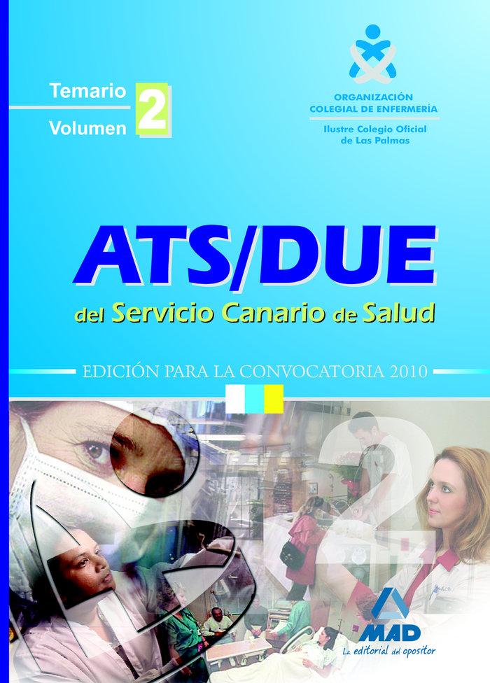 Ats/due servicio canario de salud temario