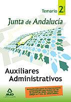 Auxiliares adminstrat. junta and.temario ii 2009