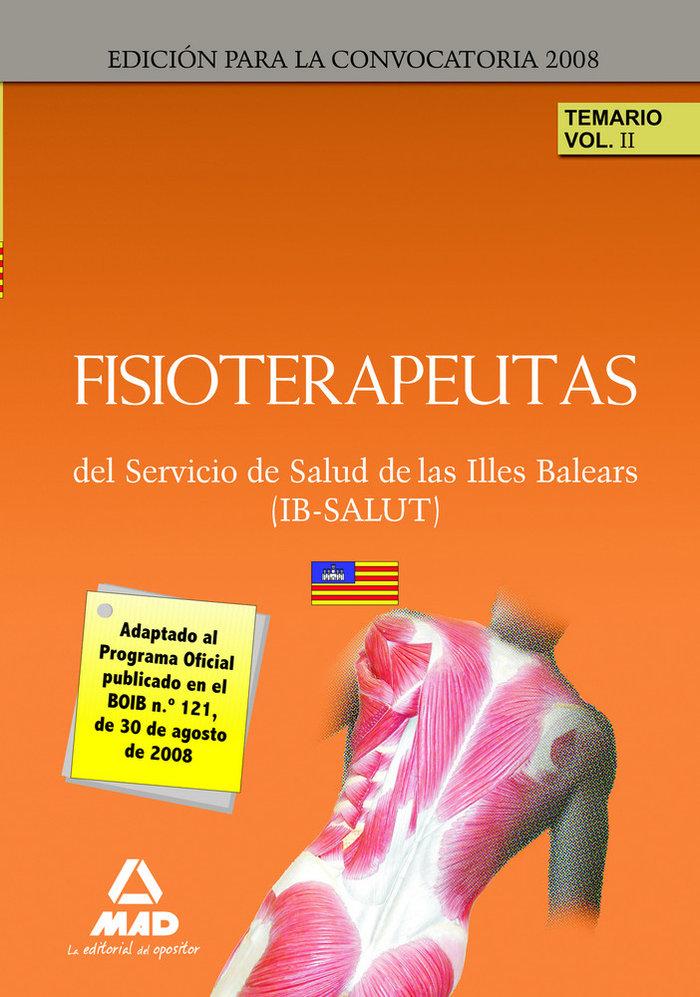 Fisioterapeutas del ib-salut. temario. volumen ii