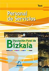 Personal de servicios, diputacion foral de bizkaia. test
