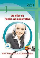 Auxiliar de funcio administrativa de l'institut catala de la