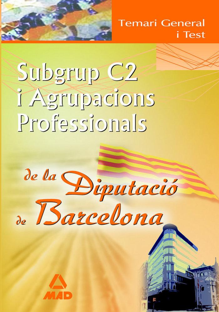 Subgrup c2 i, agrupacions profesionals de la diputacio de ba