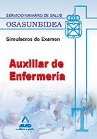 Auxiliares de enfermeria, servicio navarro de salud-osasunbi