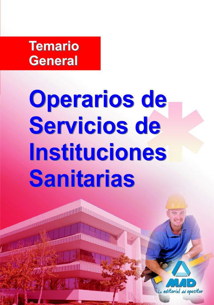Operarios de servicios de instituciones sanitarias general
