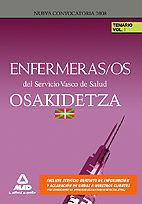 Enfermeras/os del servicio vasco de salud/osakidetza. temari