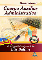 Cuerpo auxiliar administrativo de la comunidad autonoma de l