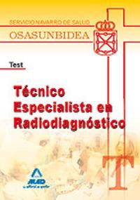 Tecnico especialista en radiodiagnostico, servicio navarro d