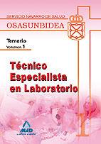 Tecnico especialista en laboratorio (t.e.l.) del servicio na