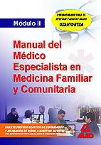 Medicos especialistas en medicina familiar y comunitaria. mo