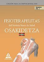 Fisioterapeutas del servicio vasco de salud-osakidetza. tema