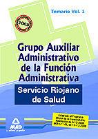 Grupo auxiliar administrativo de la funcion administrativa d