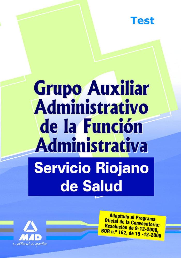 Grupo auxiliar administrativo de la funcion administrativa,