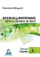 Ats/due (y matronas) del servicio cantabro de salud. temario