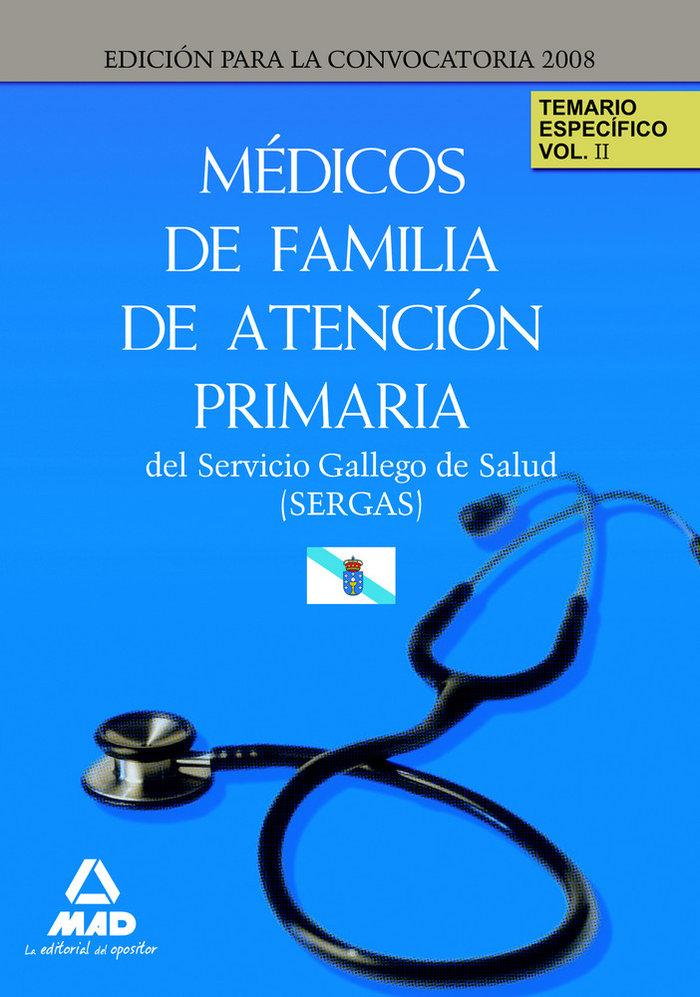 Medicos de familia de atencion primaria del servicio gallego