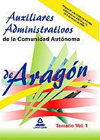 Auxiliares administrativos de la comunidad autonoma de arago
