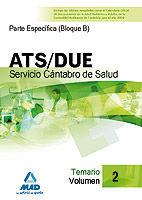 Ats/due del servicio cantabro de salud. temario volumen ii