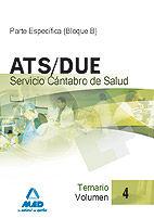 Ats/due del servicio cantabro de salud. temario volumen iv
