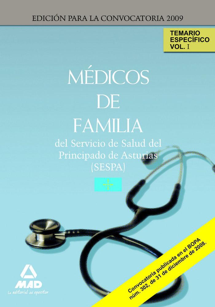 Medicos de familia del servicio de salud del principado de a