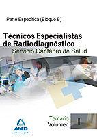 Tecnicos especialistas de radiodiagnostico del servicio cant