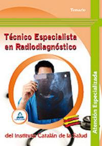 Tecnico especialista en radiodiagnostico, atencion especiali