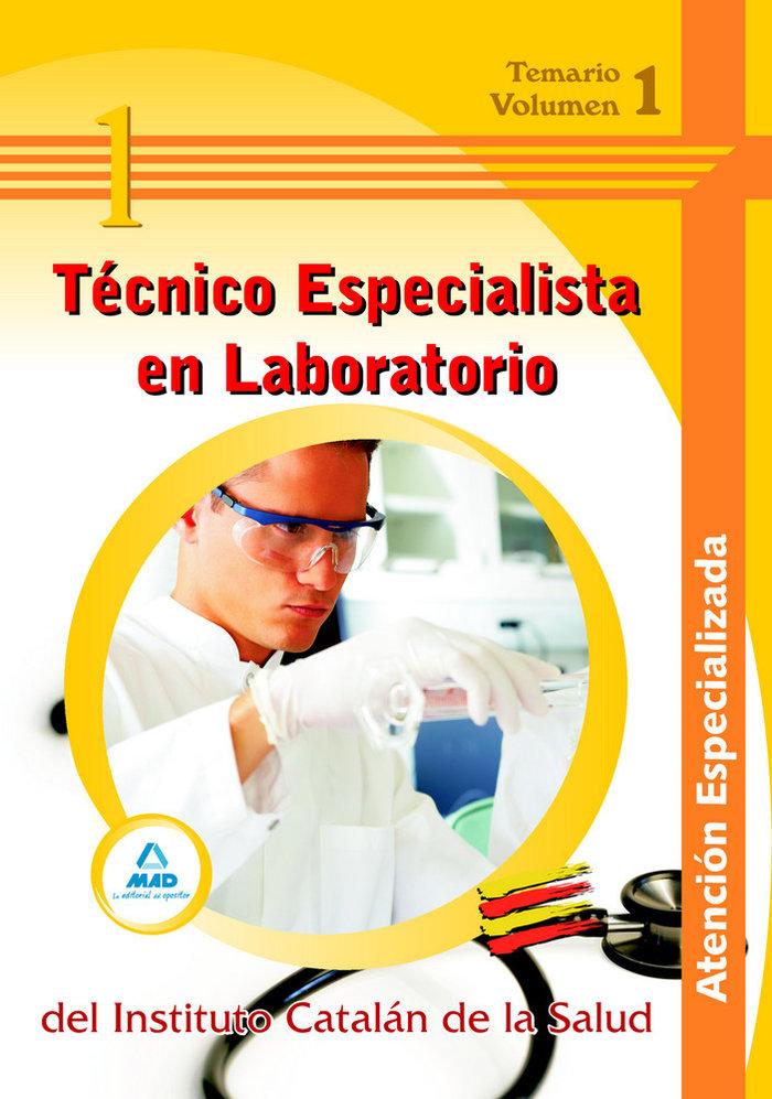 Tecnico especialista en laboratorio del instituto catalan de