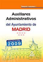 Auxiliares administrativos del ayuntamiento de madrid. temar